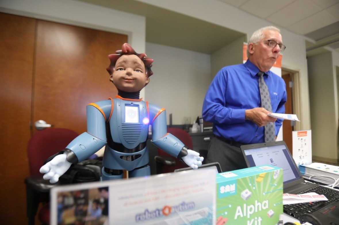 Robot for Learners with Autism Captures Educators' Imagination at CCIU's STEM Expo
