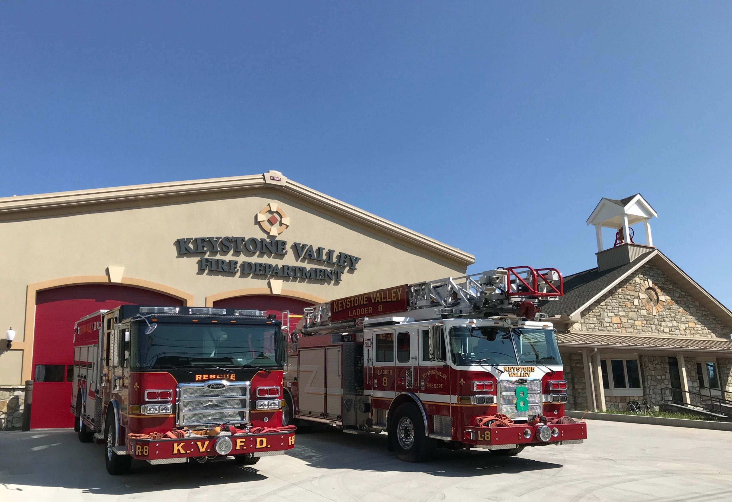 Keystone Valley Fire Department Dedicates Its Renovated Station in Parkesburg