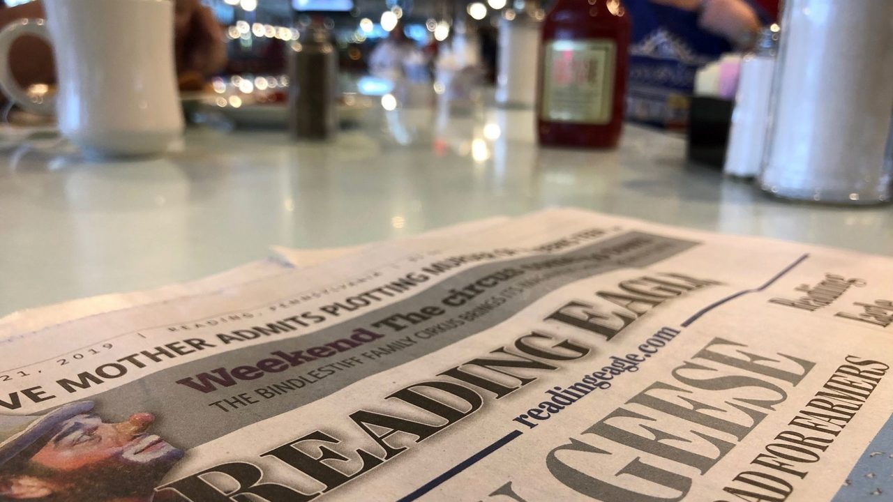 Parent Company of West Chester-Based Daily Local News the Lone Bidder to Buy Reading Eagle