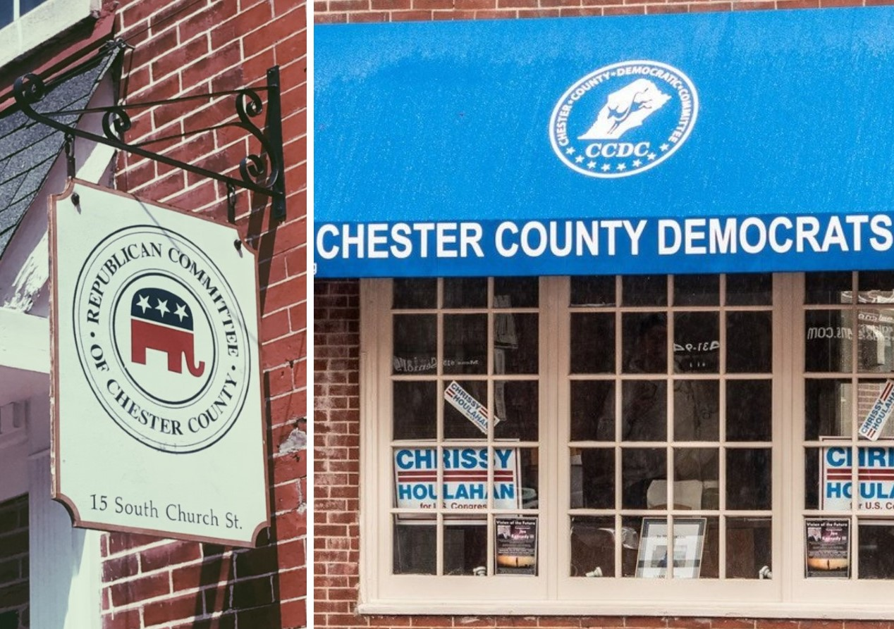 Democrats Continue to Close the Voter-Registration Gap in Chester County