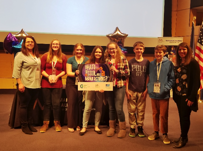 """Two Area Teams Advance to State-level Competition in the """"What's So Cool About Manufacturing?"""" Student Video Contest"""