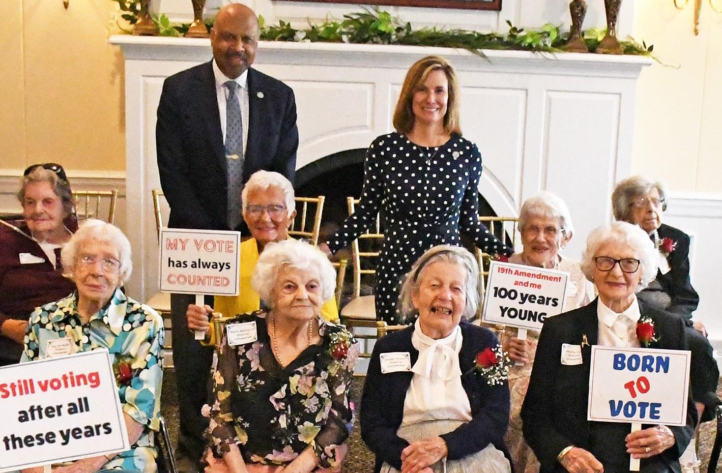 Chester County Recognizes 100th Anniversary of 19th Amendment in Pennsylvania