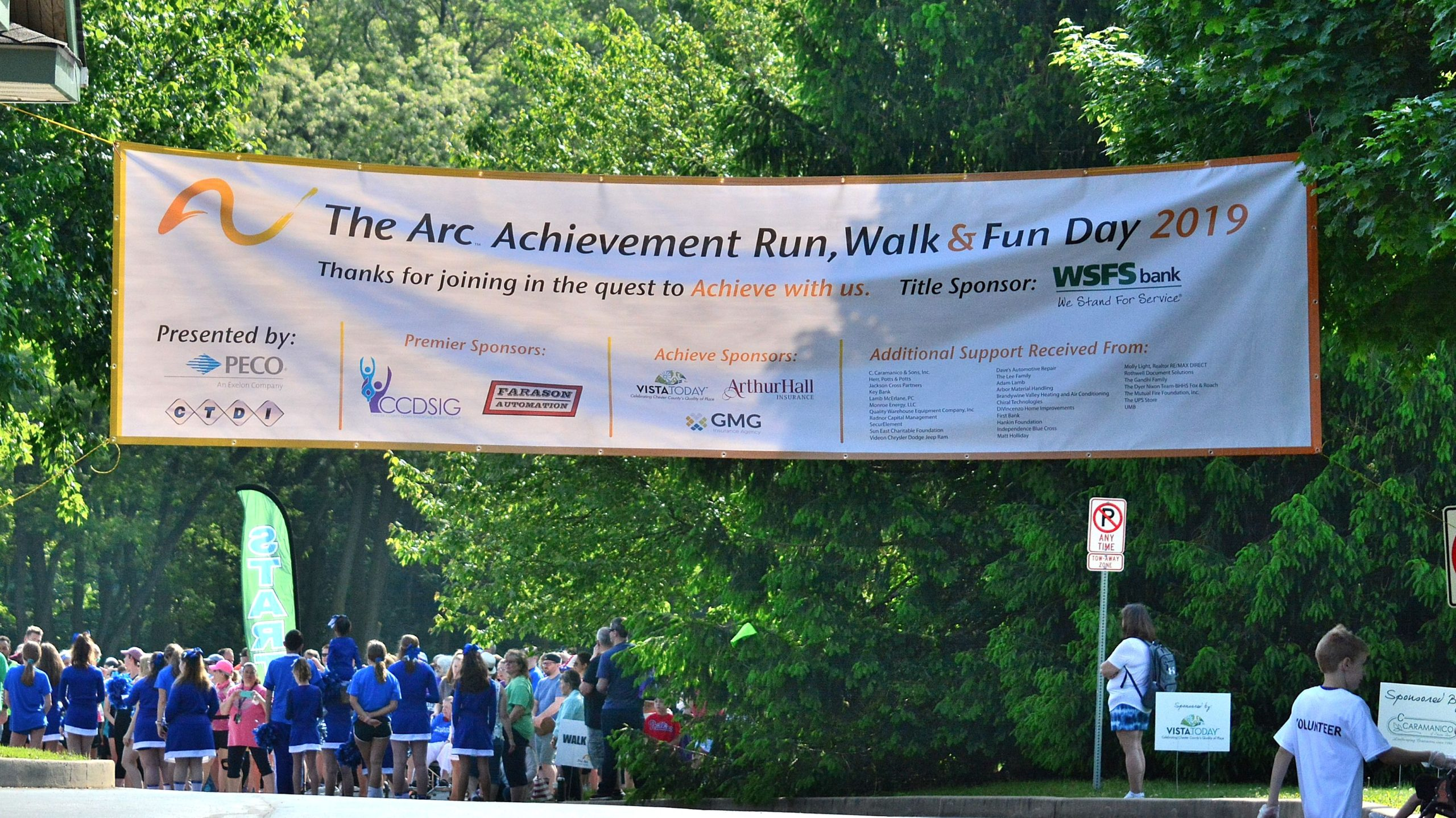 Arc Achievement Run, Title Sponsor WSFS Bank Raise $100,000 for Individuals with Disabilities