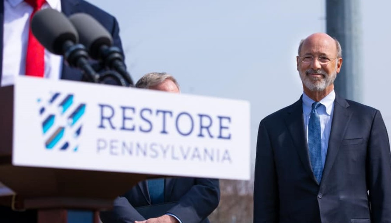 Gov. Wolf Unveils His $4.5 Billion Plan to 'Restore Pennsylvania' and Where Funds Would Come From