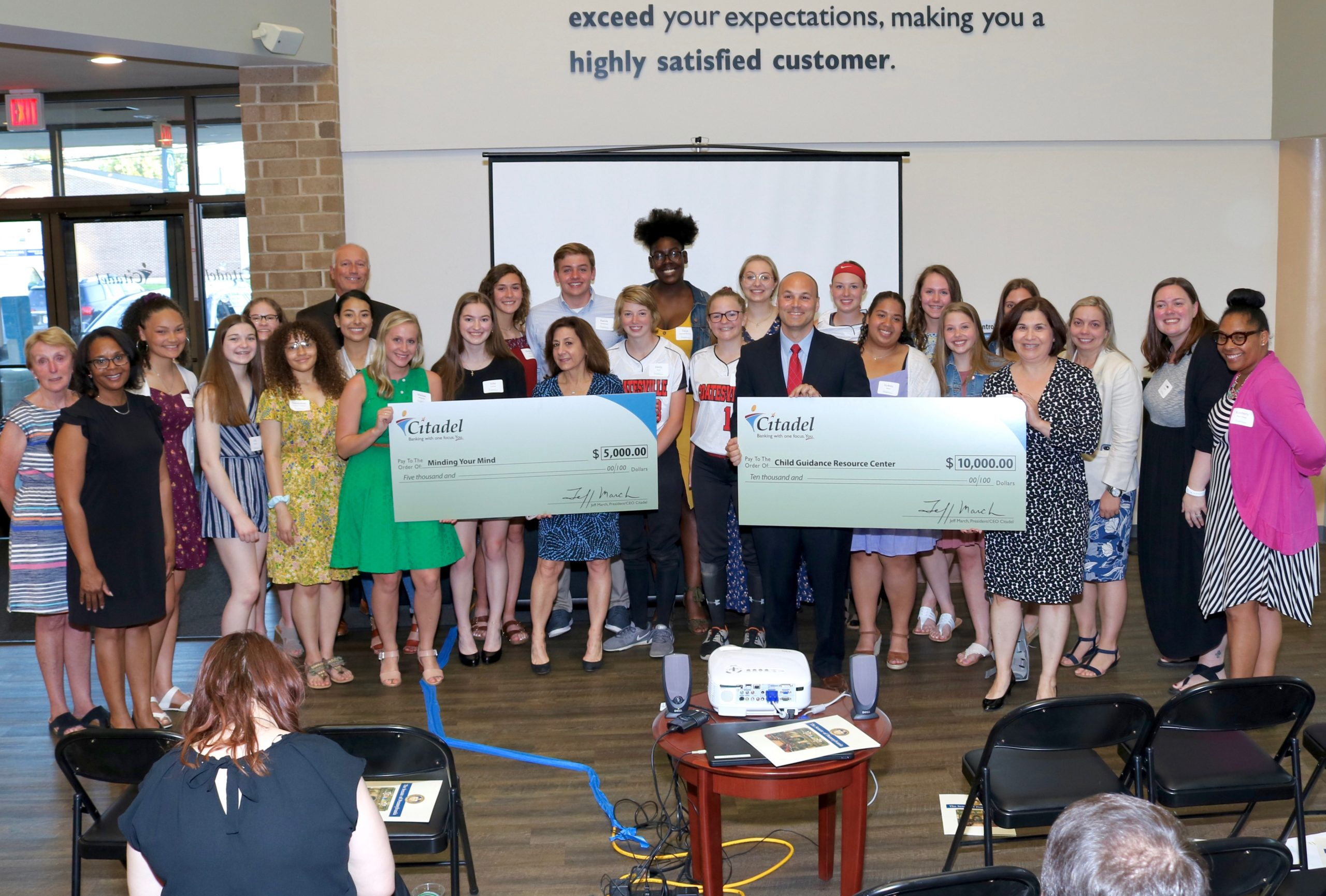 Coatesville Area Youth Philanthropists Award $15,000 to Prevent Teen Suicide in Chester County