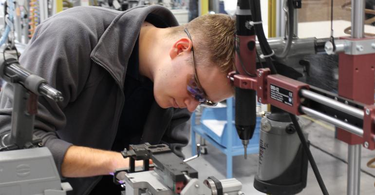 Local Manufacturer Engages Younger Generation to Fill Industry's Skills Gap