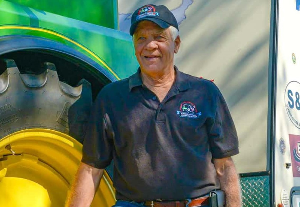 Honey Brook Man Travels America by Tractor to Advocate for Wounded Veterans