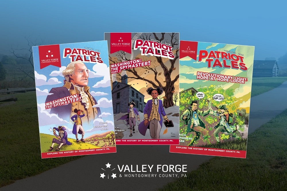 VFTCB's Patriot Tales a Comic Book Series That Highlights Valley Forge Park's History via Fiction