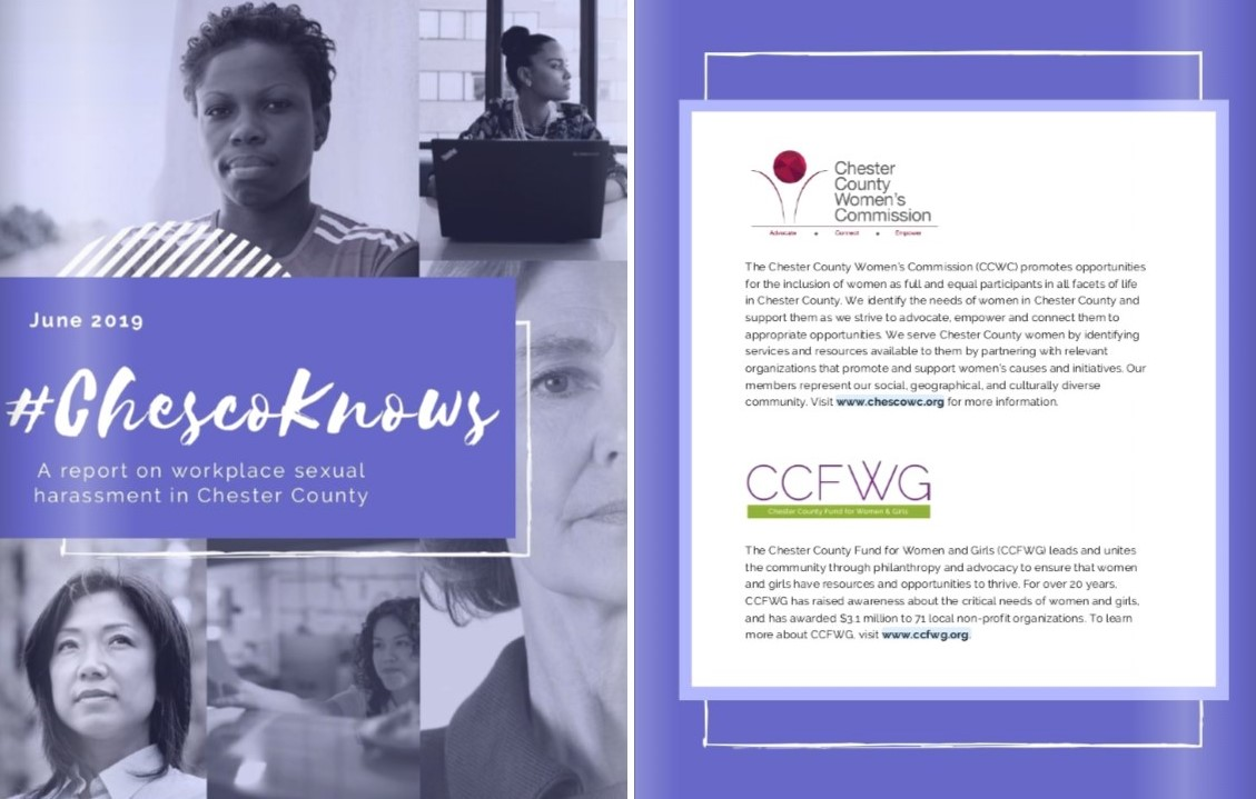 Findings of #ChescoKnows Workplace Sexual Harassment Survey Released