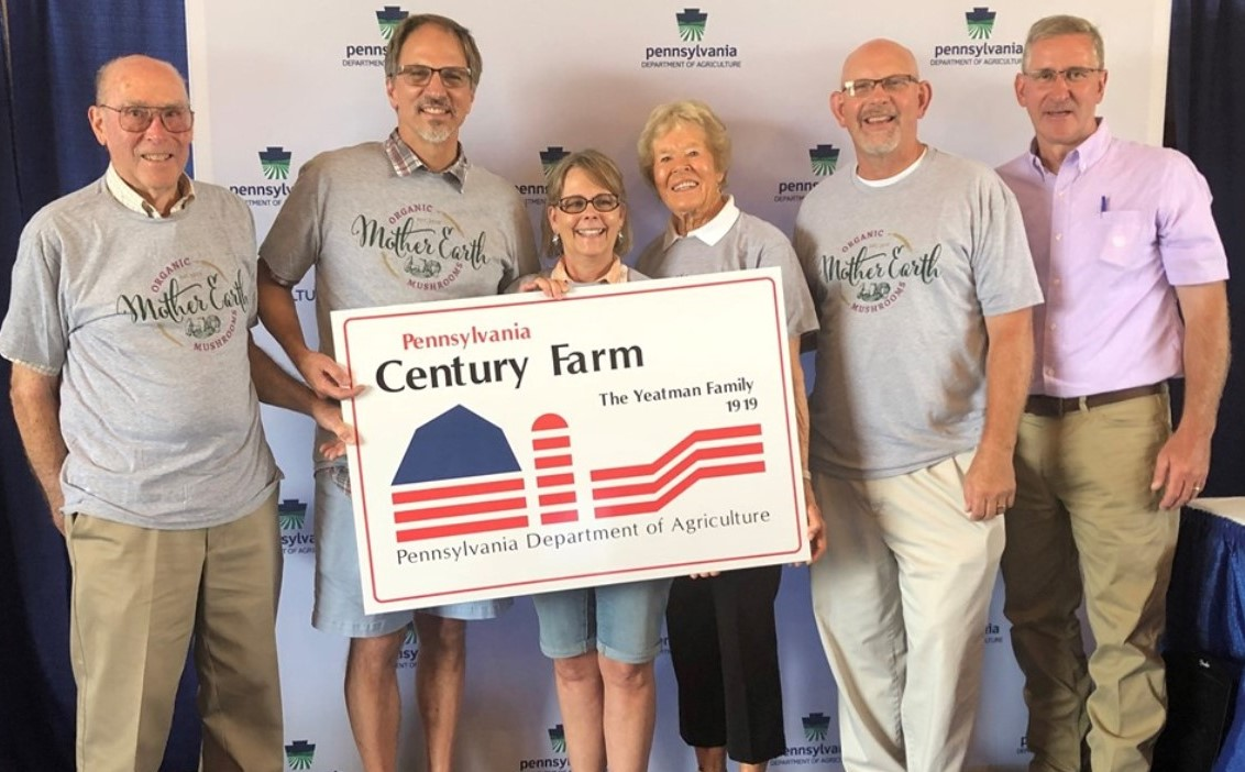 State's Department of Agriculture Recognizes Farm in West Grove as a Century Farm