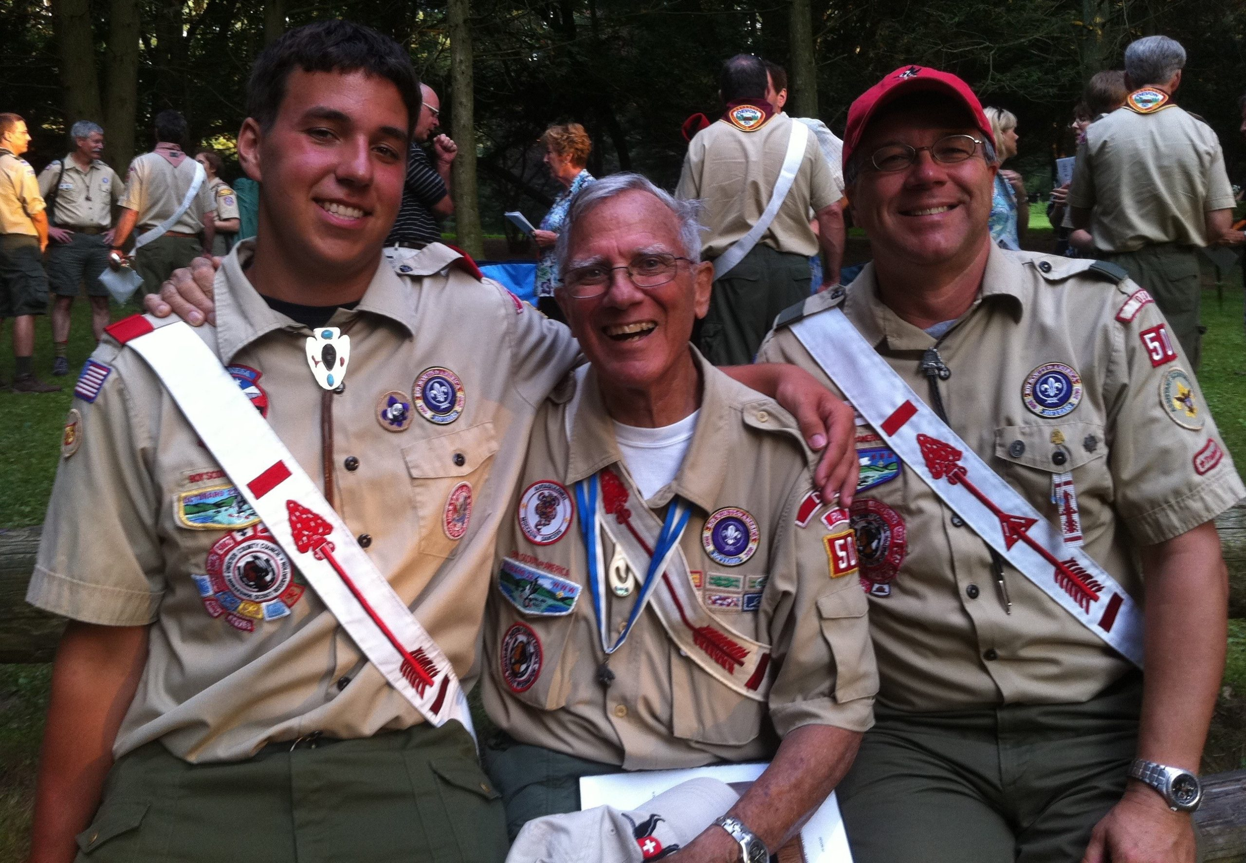 Local Family's Four Generations of Eagle Scouts Make Positive Difference in Lives of Young People