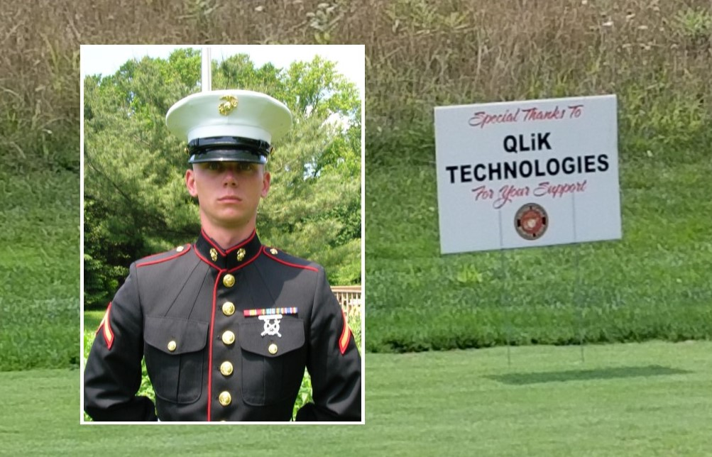 Qlik's Sponsorship of Local Golf Classic Honors Memory of Marine from Cochranville
