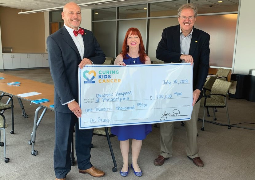 Malvern Bank Supports Nonprofit That Funds Research to Find Cures for Childhood Cancer