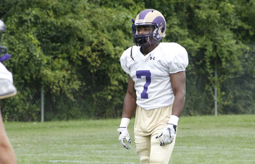 All-American Football Player at WCU Remains Focused on the Road Ahead