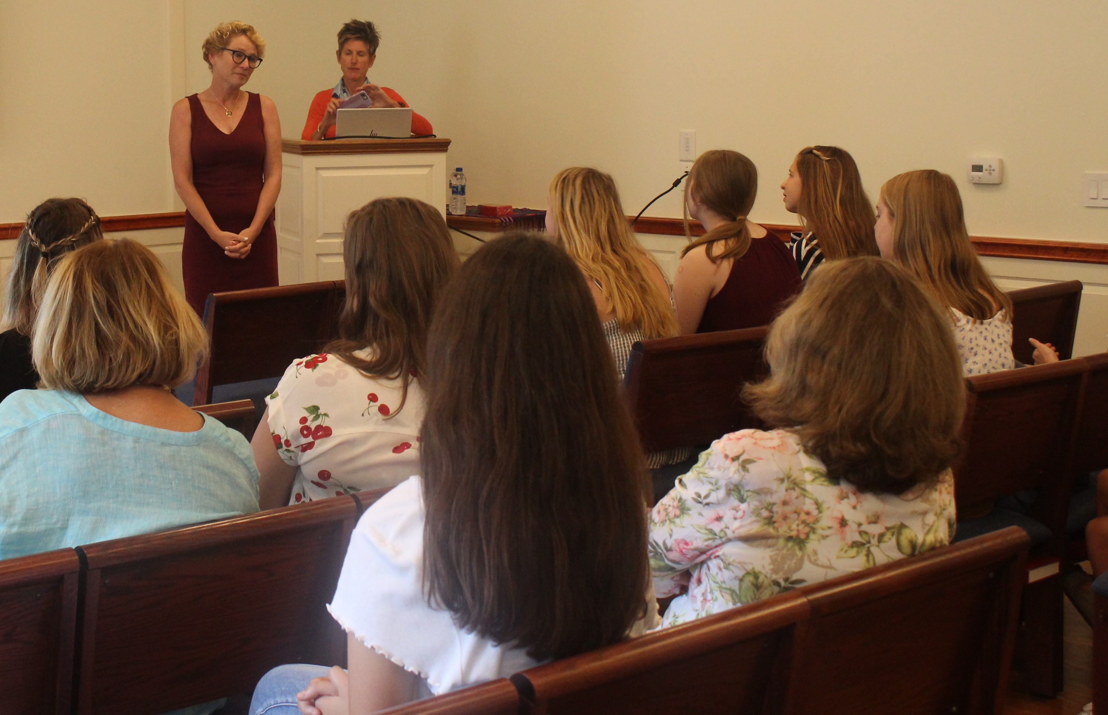 CCFWG Welcomes U.S. Rep. Chrissy Houlahan for Forum with High School Girls