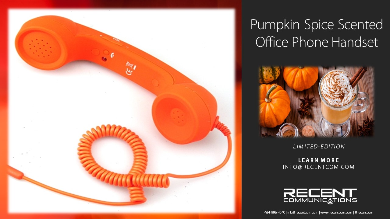 Local Telecommunications Company Unveils Pumpkin Spice-Scented Office Phones