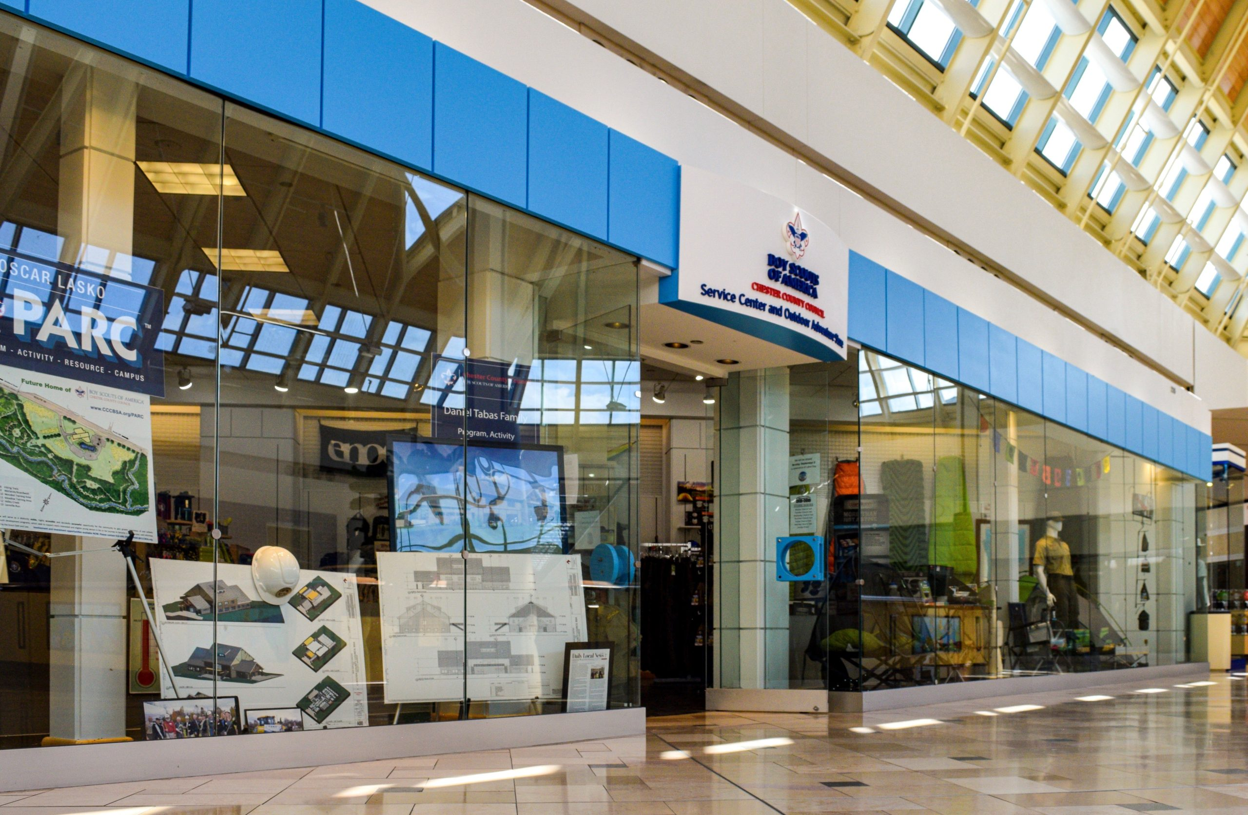 Chester County Boy Scouts Move Headquarters to Exton Mall, Aim to Bring Scouting to Wider Audience