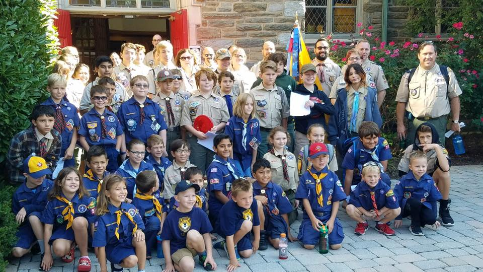 Chester County Boy Scouts Learn Religious Tolerance with Faith March in West Chester