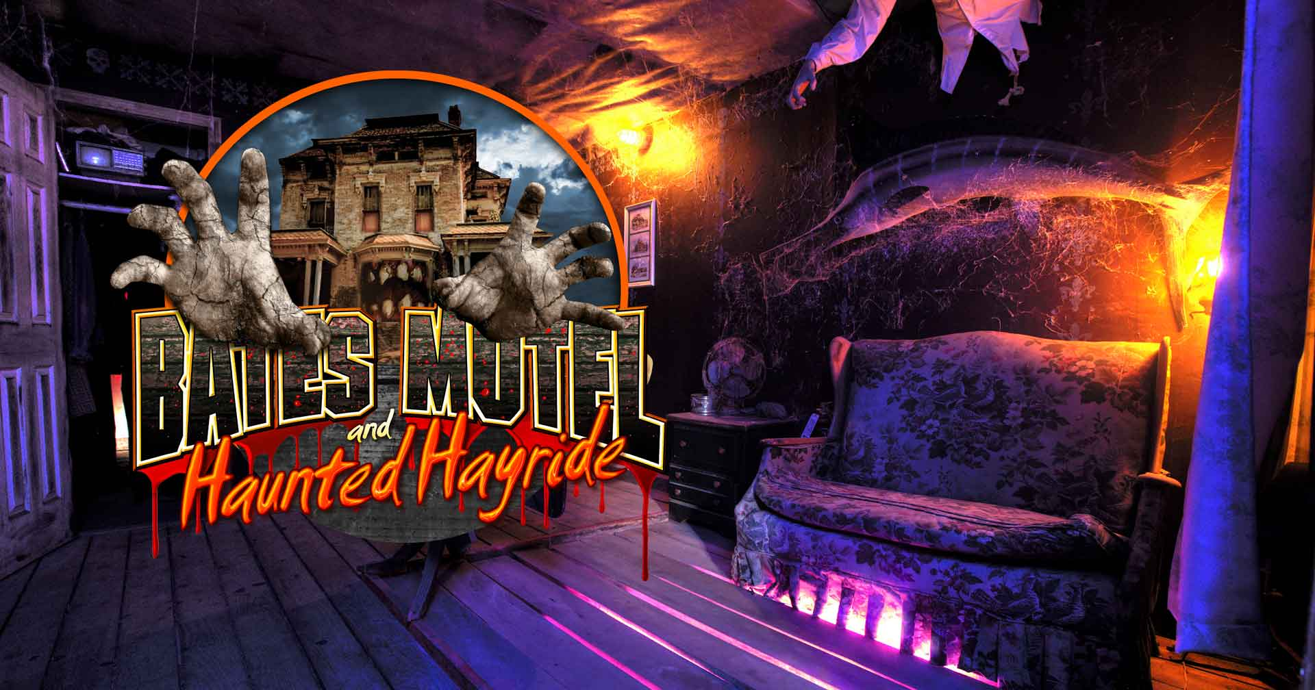 This Video Shows Why Nearby Bates Motel Is One of America's 10 Best Haunted House Attractions