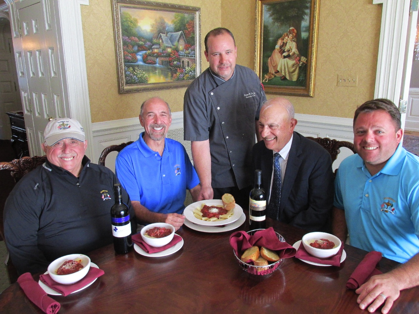 Columbus Cup Celebration at North Coventry's Bellewood CC Adds Traditional Italian Street Feast Dish
