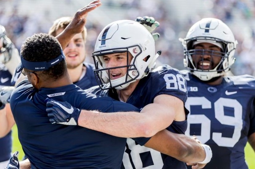 After Two Successful Years on the Track, Downingtown East Grad Rejoins PSU Football Team