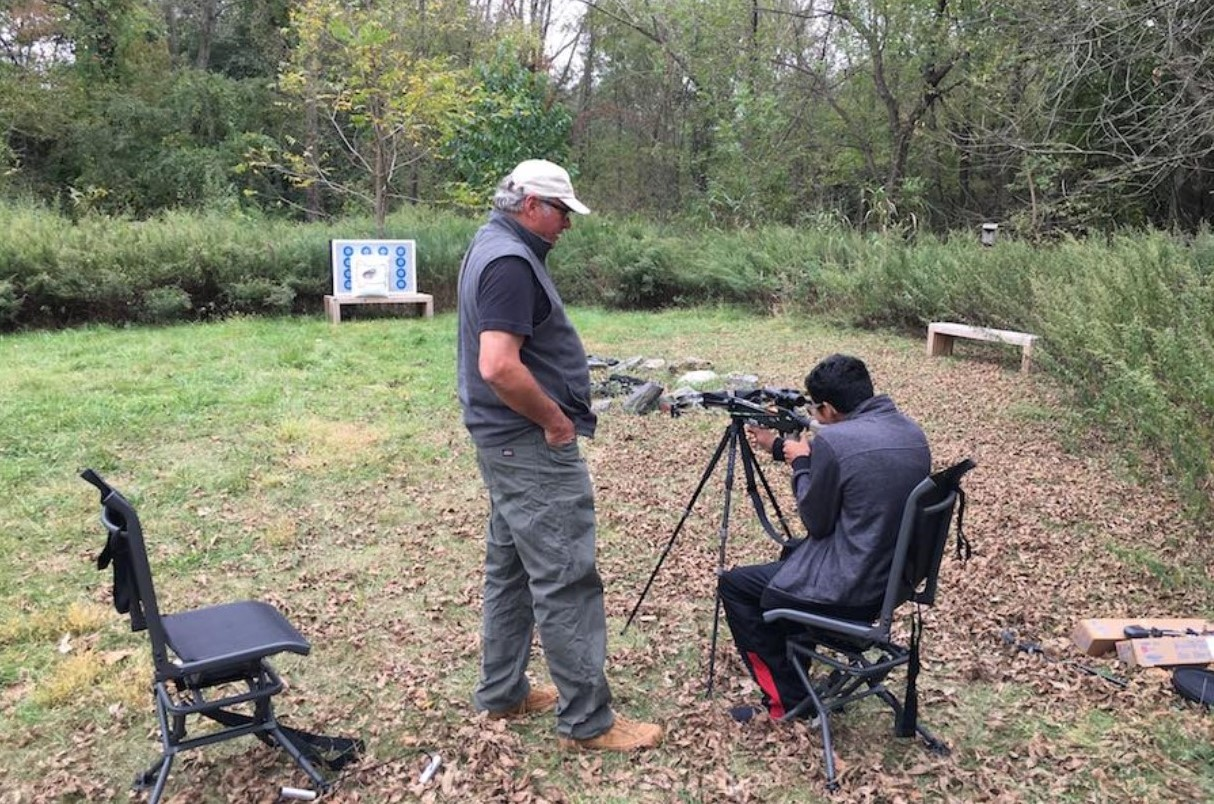 CEO of West Chester-Based Kodabow Helps Aspiring Hunter Prepare for His First Deer Hunt