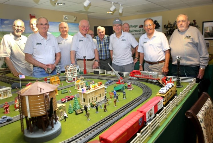 Oxford Men Bring Their Hobby to New Level with Model Railroad Club
