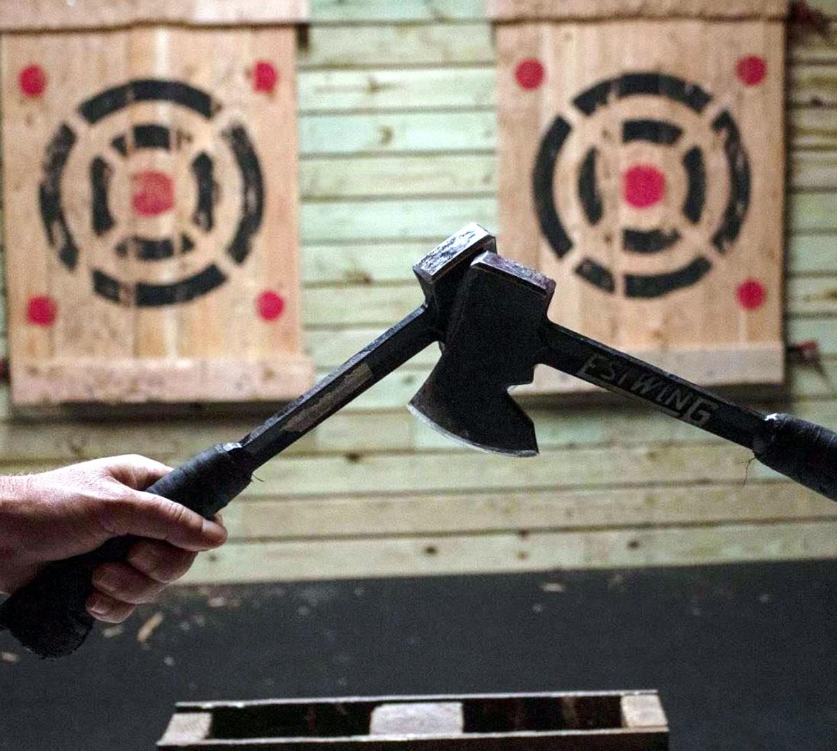 Unique Axe-Throwing Venue to Open in West Chester