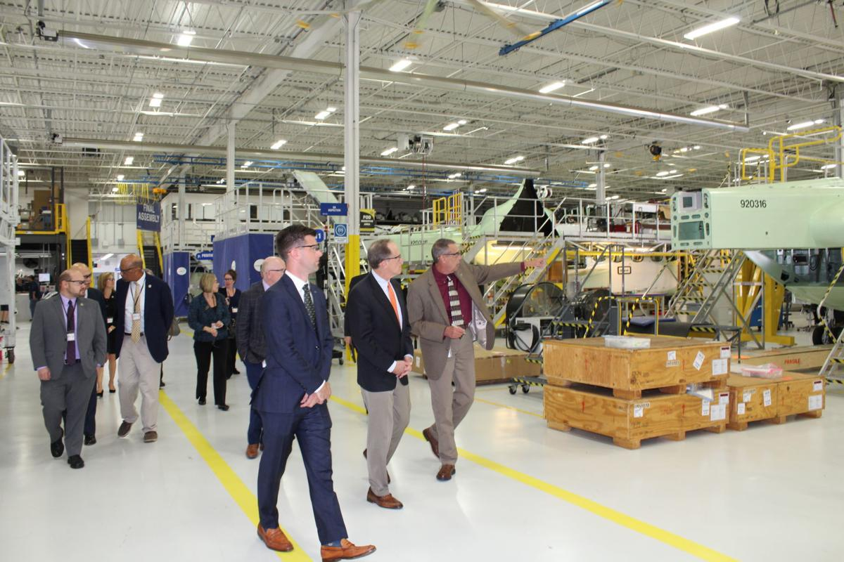 U.S. Sen. Toomey Gets First-Hand Look at Sikorsky's Operations in Coatesville