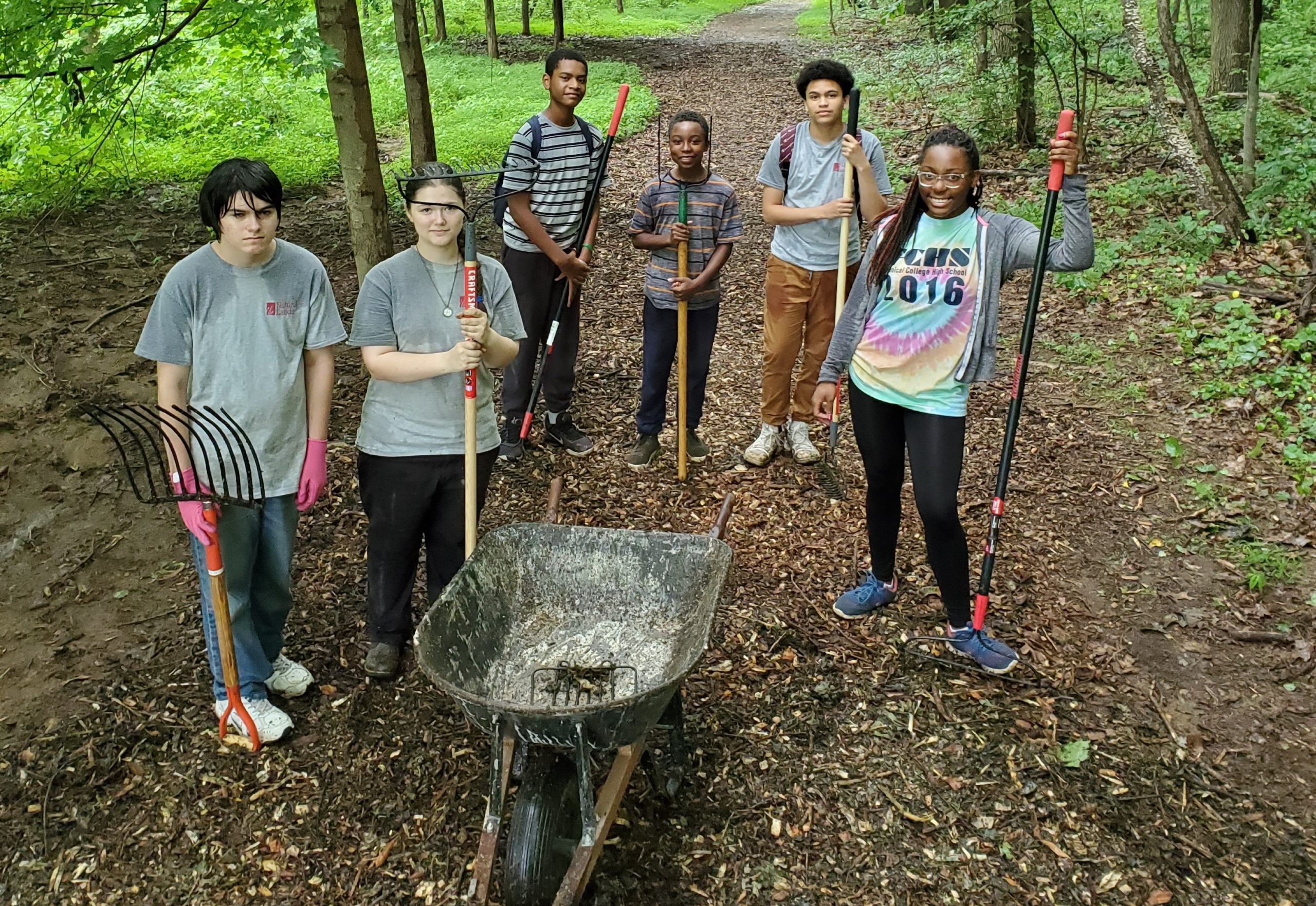 Going Outside to Look Inward: Natural Lands to Offer Outdoor Employment for Youth Facing Challenges