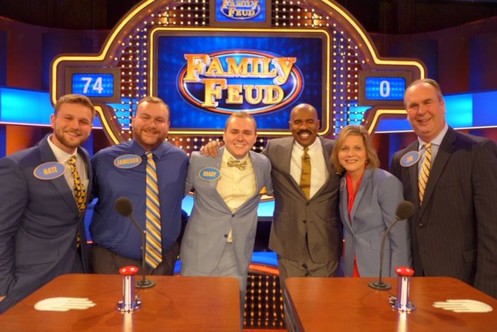 West Chester Man Joins Parents, Brothers to Compete in Episode of 'Family Feud'