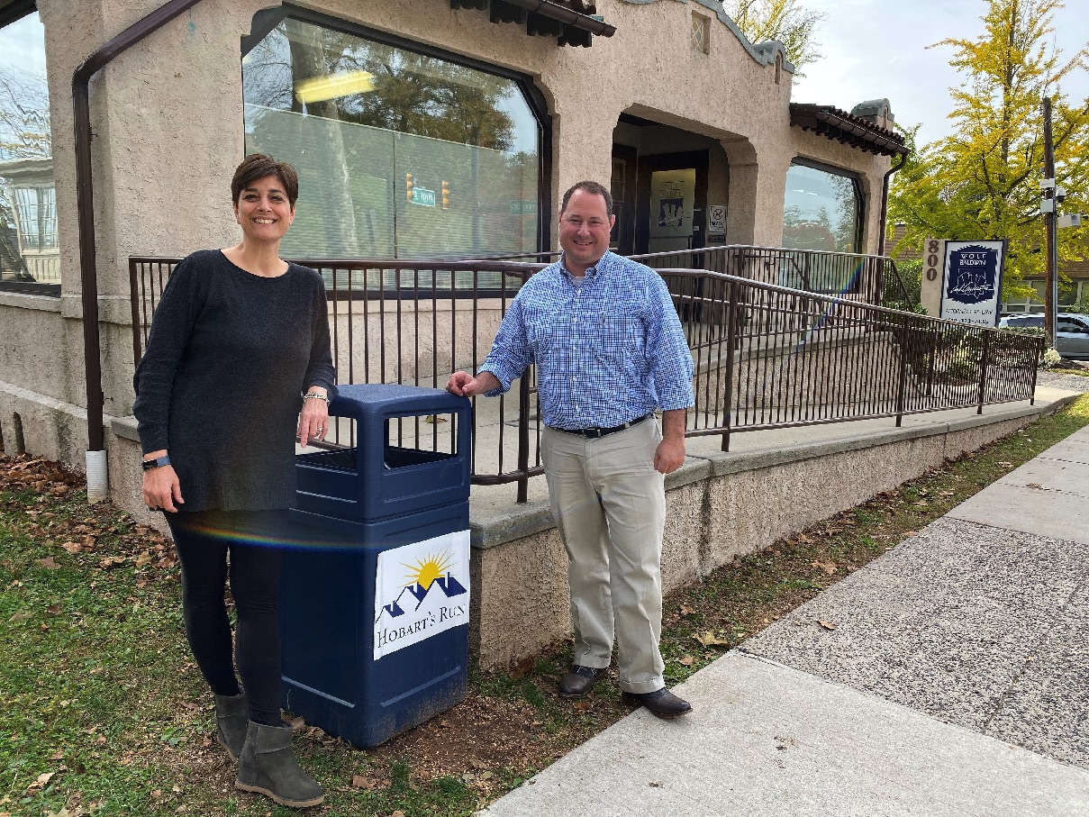 Hobart's Run Looking for Sponsors for Adopt-a-Can Campaign That Keeps Pottstown's Streets Clean
