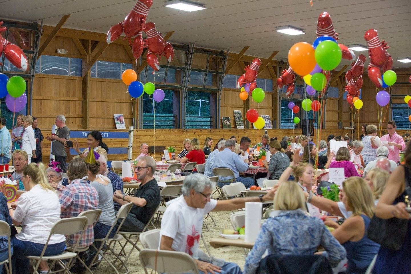 Lobstah Bake & BBQ Helps Thorncroft to Provide the Healing Power of Therapeutic Horseback Riding