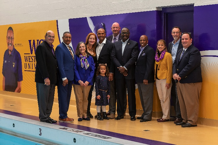 WCU Aquatics Center Now Bears Name of University's First African-American Diving Coach
