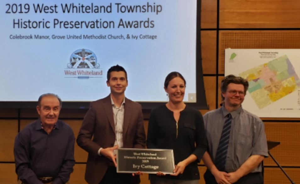 Hankin Group Recognized for Restoration of Historic Property in Exton