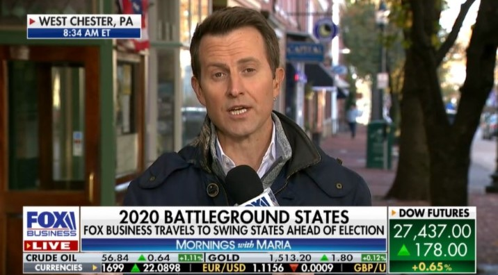 FOX Business Network Visits West Chester to Take Its Pulse a Year Before Presidential Election