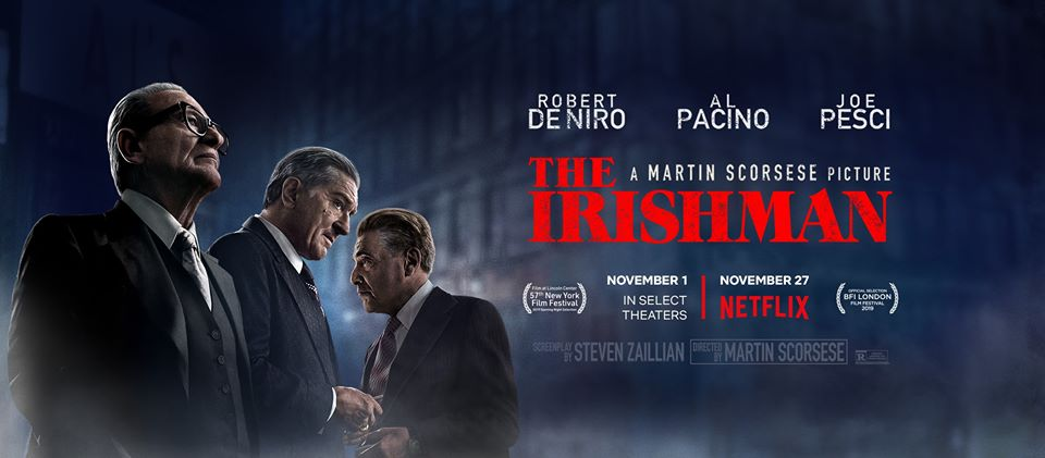 Robert De Niro Defends 'The Irishman' as Critics Challenge Former Delco Mobster's Hoffa Claim