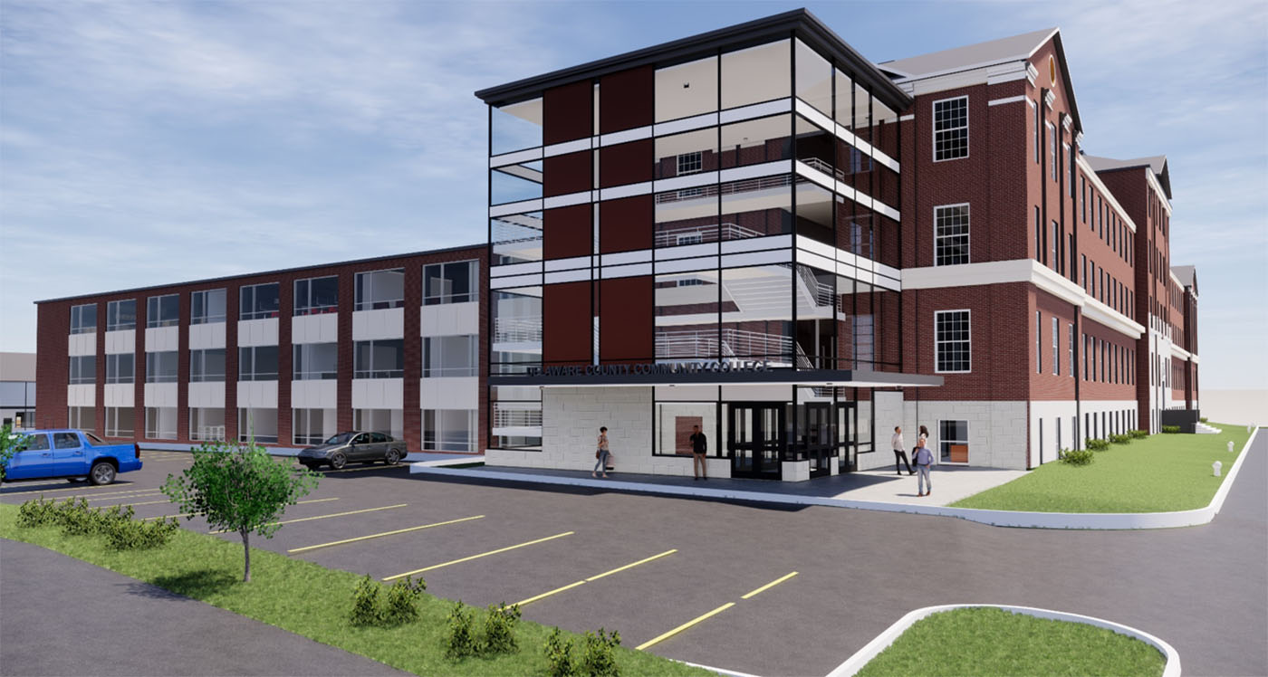 Here's What's Coming to the New Community College Campus at Prendie