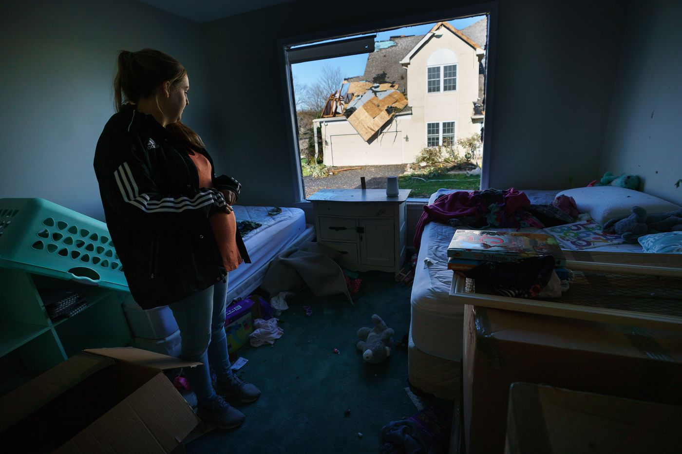 Families Pick Up Pieces After Tornado Damages Eight Homes in Thornbury Township