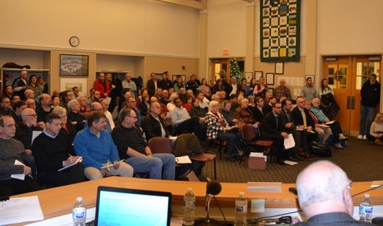 Residents in New Garden Township Voice Concerns over Plans for White Clay Point