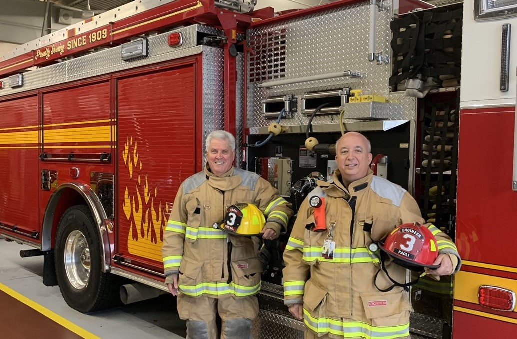 Local Clergymen Balance Their Service to God with Community Service as Paoli Firefighters