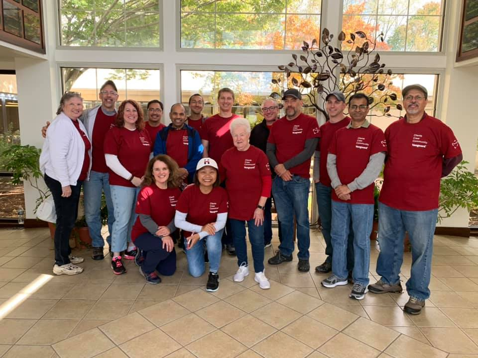 Vanguard Employees Heartened by Their Experiences as Volunteers at Thorndale's Handi-Crafters