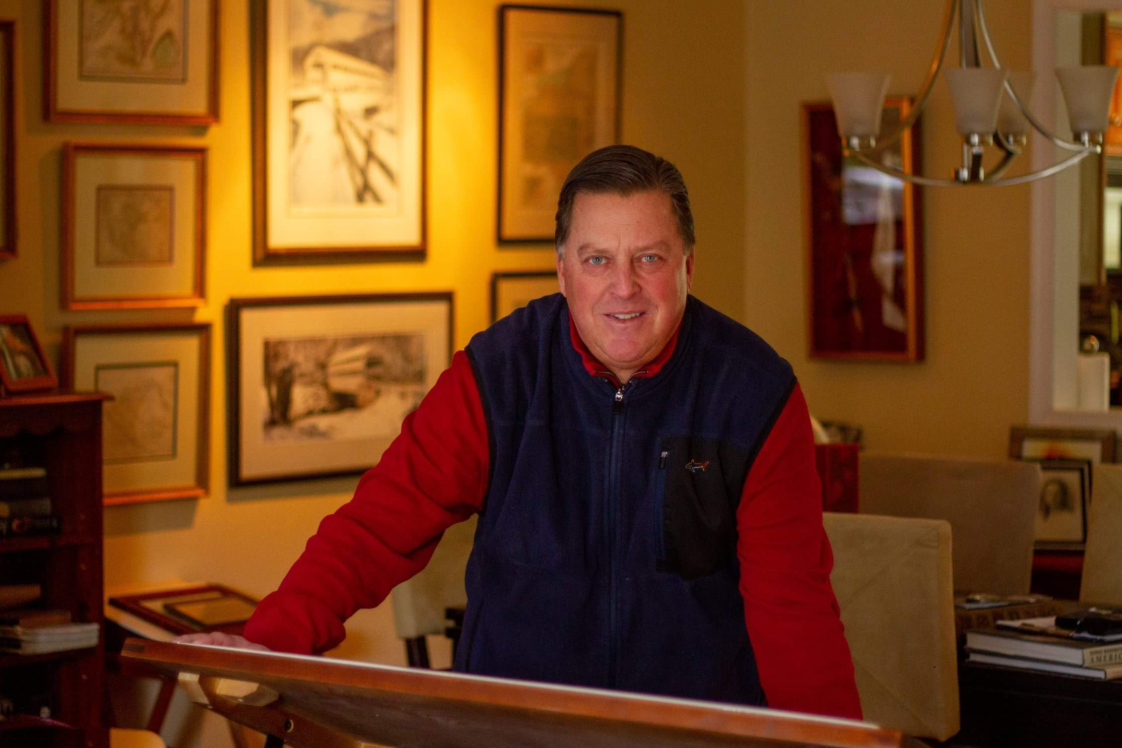 Chesterbrook Man Shares His Passion for Antique Maps, Farm and Railroad Atlases