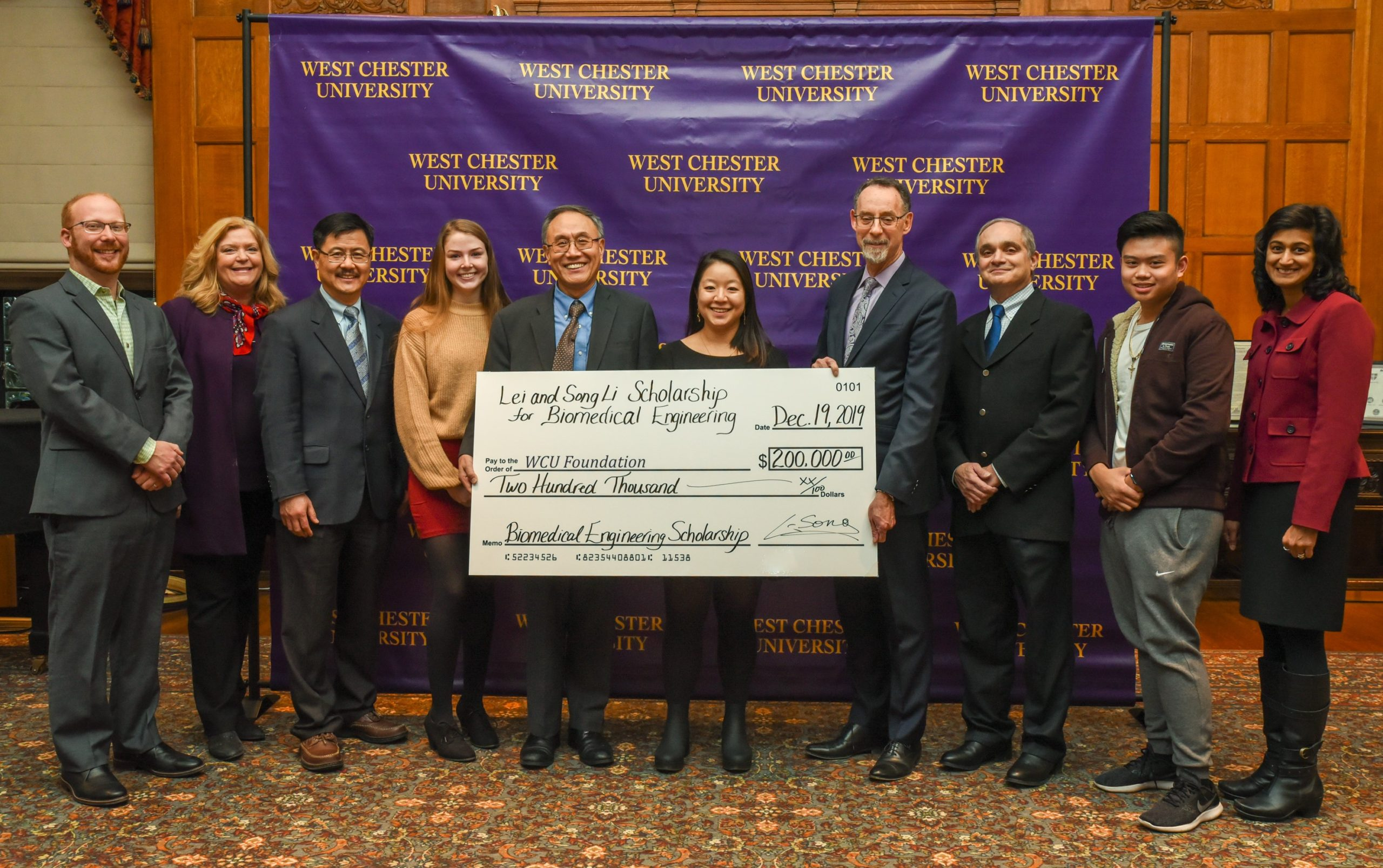 Founder of Frontage Laboratories in Exton Donates $200,000 to WCU for New Biomed Engineering Program