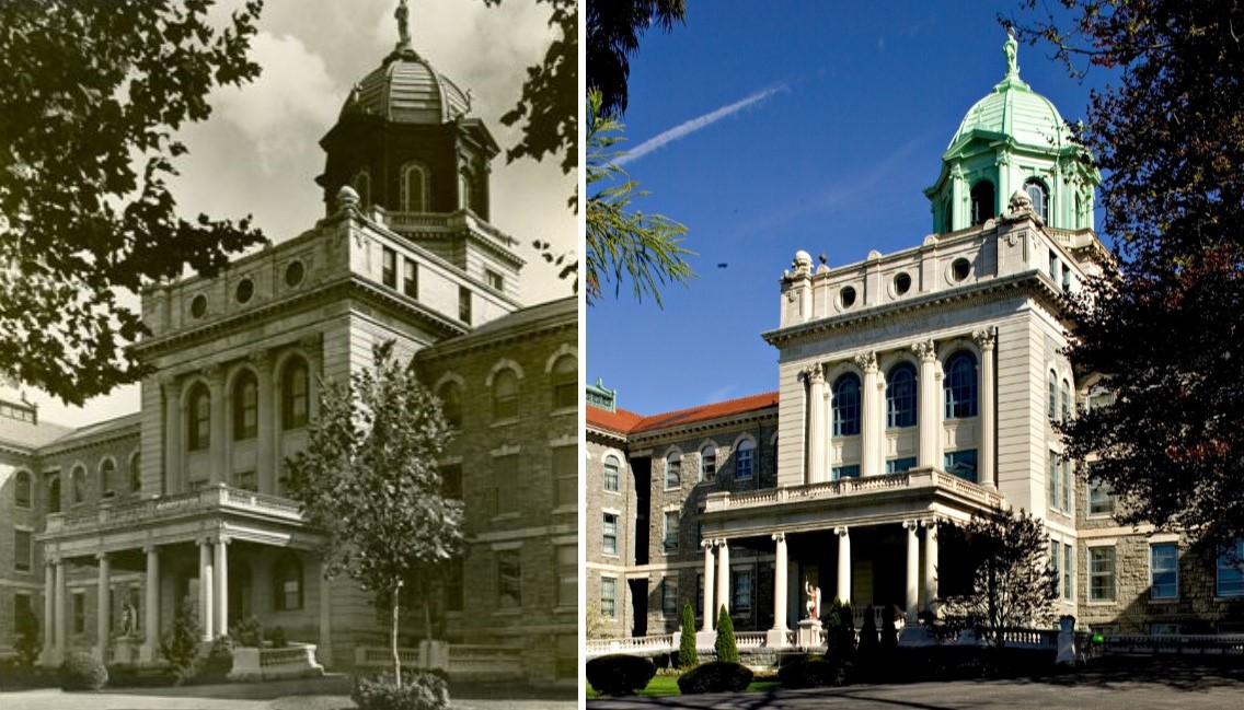 Immaculata University: Then and Now