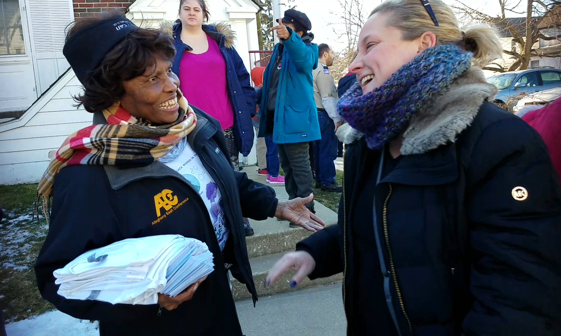 Atkinson Community Services Center in Coatesville Hosts 100-Plus Volunteers for Day of Service