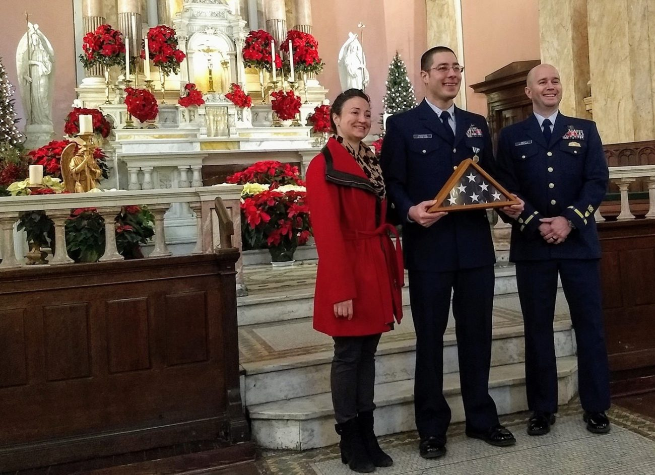 Man of Deep Faith Goes from Guarding the U.S. Coast to Keeping National Shrine Secure