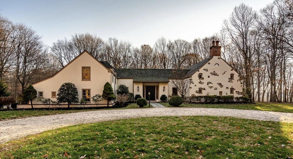 Malvern Bank House of the Week: French-Style Home Surrounded by Open Space in West Grove