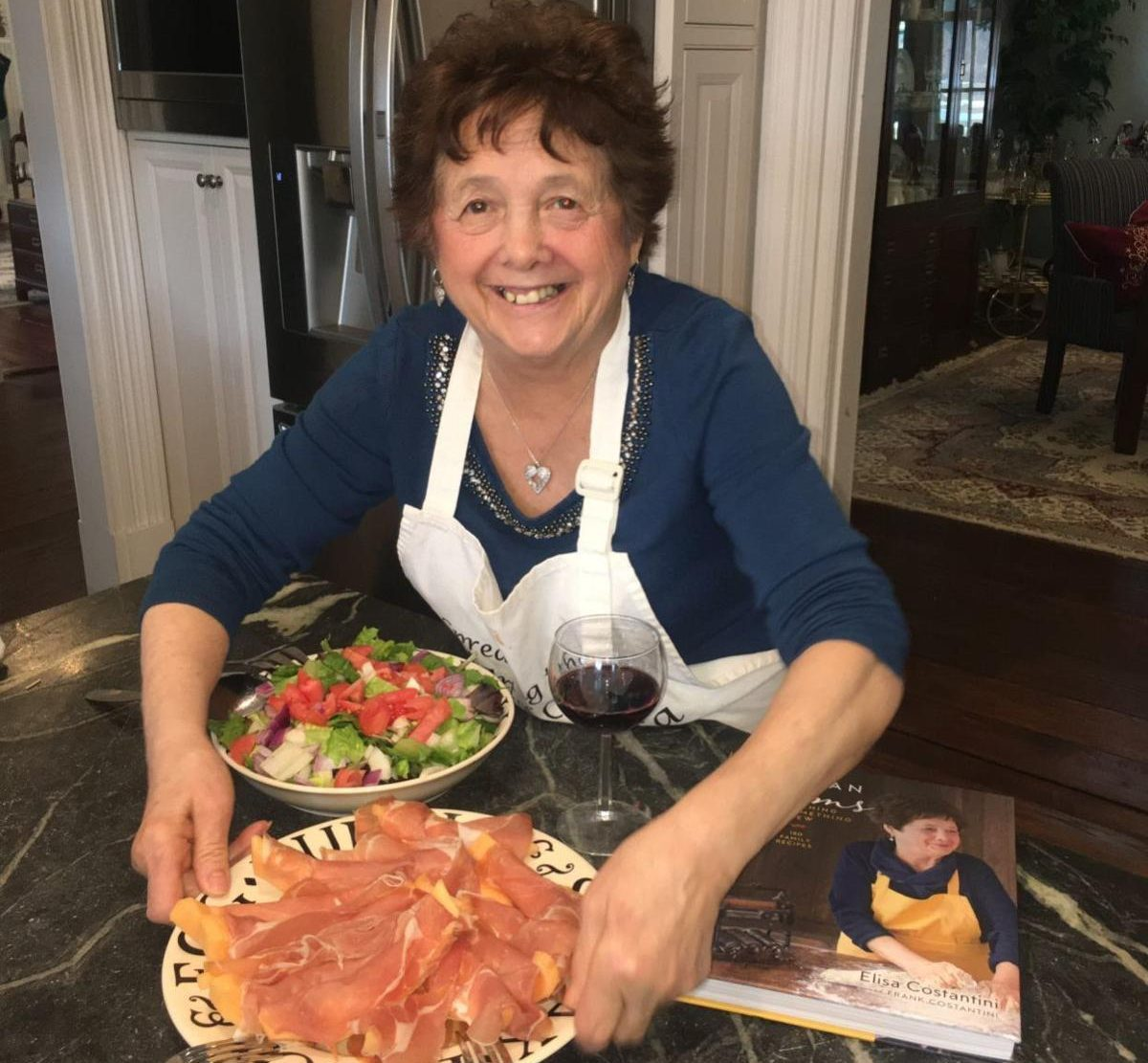 Humble Delco Chef Has Small Role in 'The Irishman' and Celebrity Status After Two Successful Cookbooks