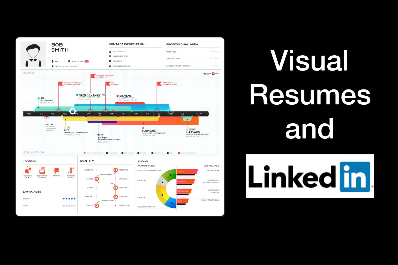 Visual Resumes and LinkedIn
